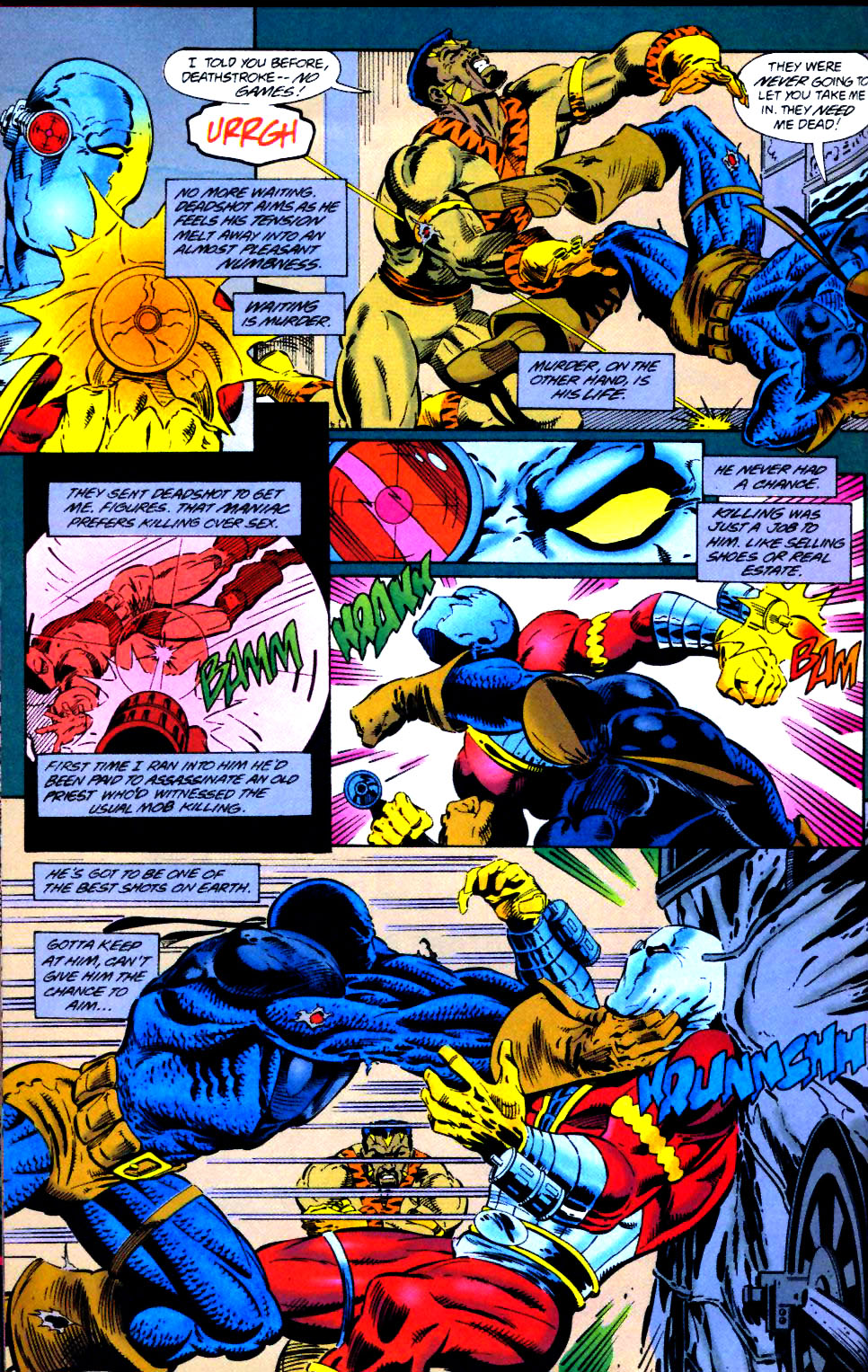 Deathstroke (1991) Issue #41 #46 - English 21