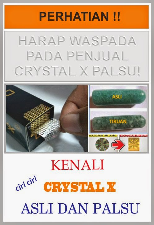 beli crystal x asli dimana