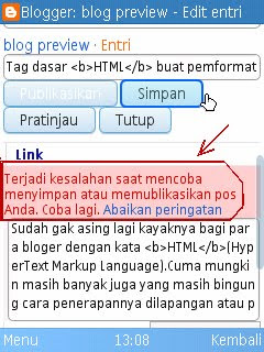 tutorial blog edit entri blog pake hp