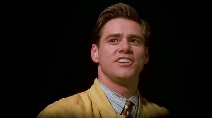 Screen Shot Of Hollywood Movie The Truman Show (1998) In Hindi English Full Movie Free Download And Watch Online at worldfree4u.com