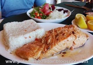 Restaurante Las Rocas Duao Salmon