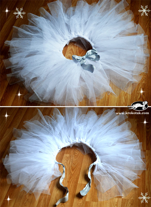 Как сделать пачку балерины своими