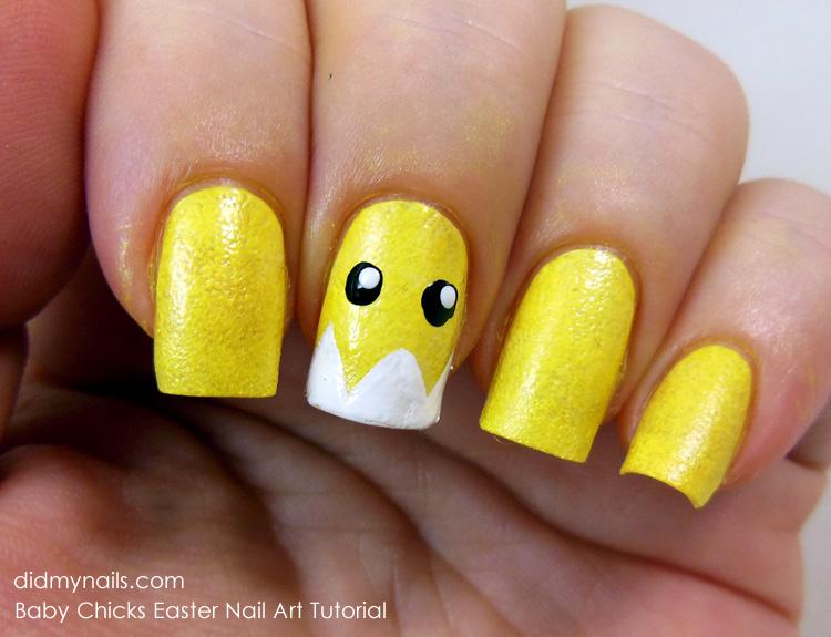 Two chicks nail