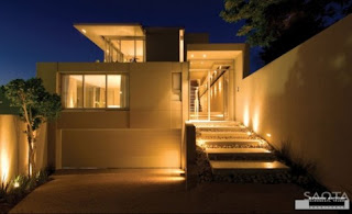 light sheen of the overall look of the design of this house
