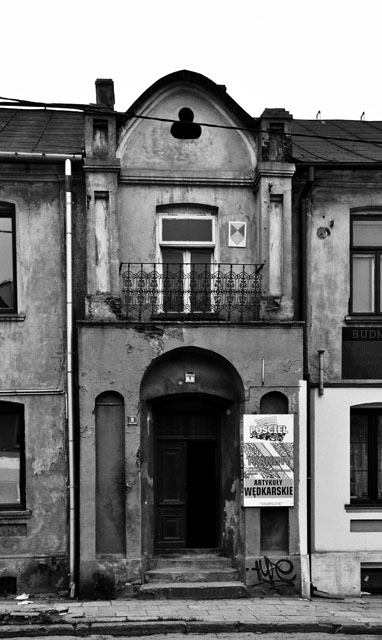 Środkowa część budynku - Starowarszawska 5. Fot. KW
