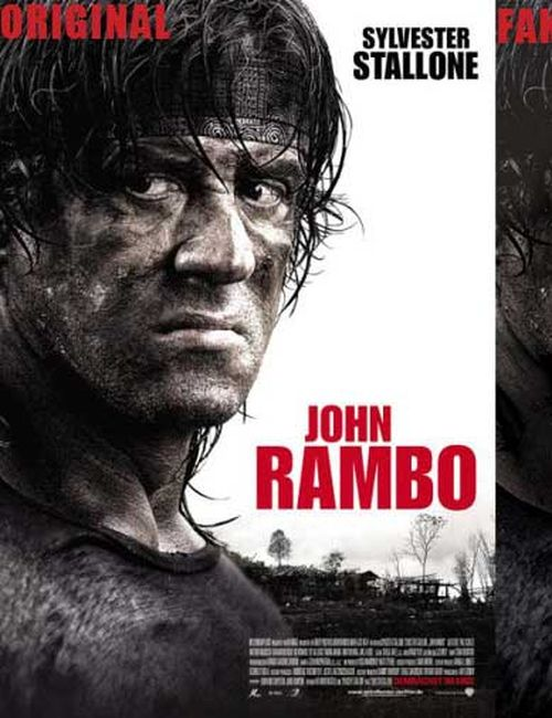 """John Rambo"" Movie-Poster"