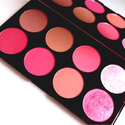 Makeup revolution sugar and spice blush palette