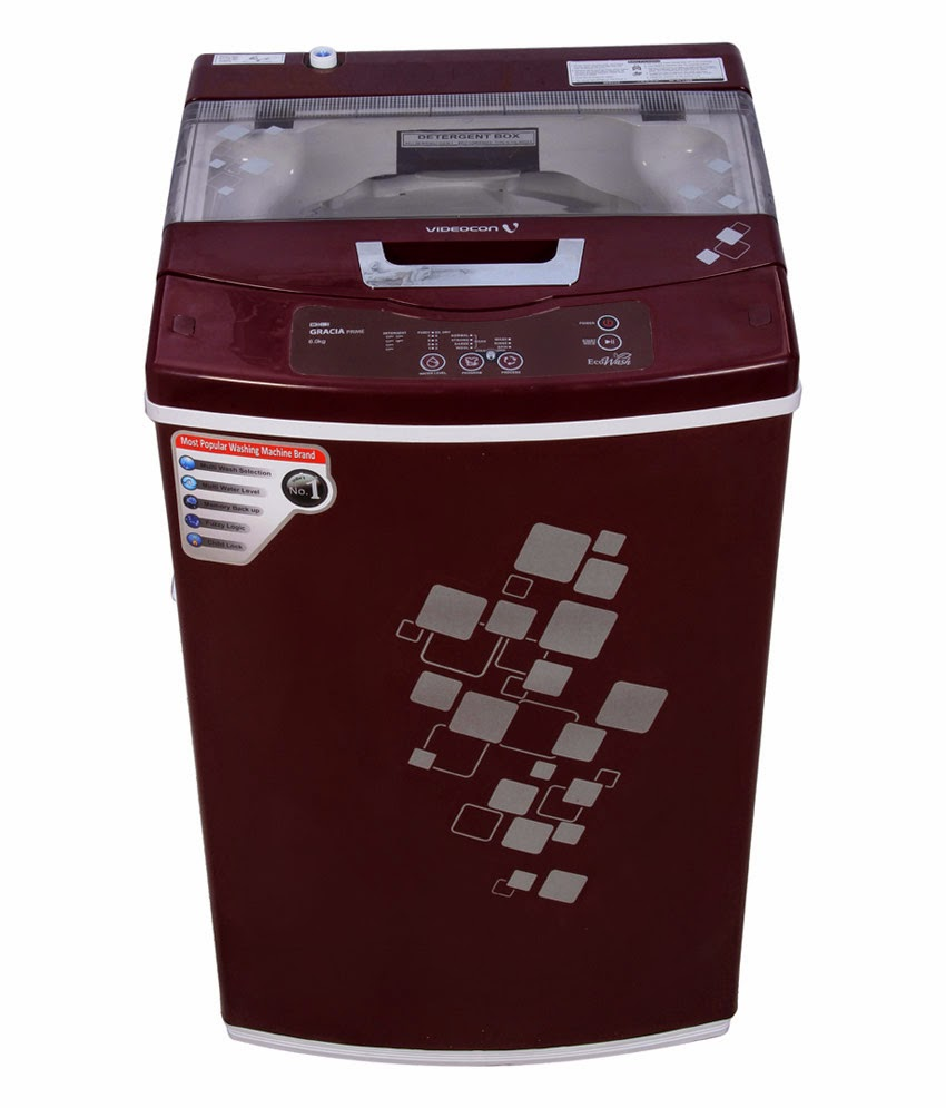 Snapdeal:  Videocon VT60H12 Digi Gracia Prime 6 Kg Top Load Fully Automatic Washing Machine at Rs 10798