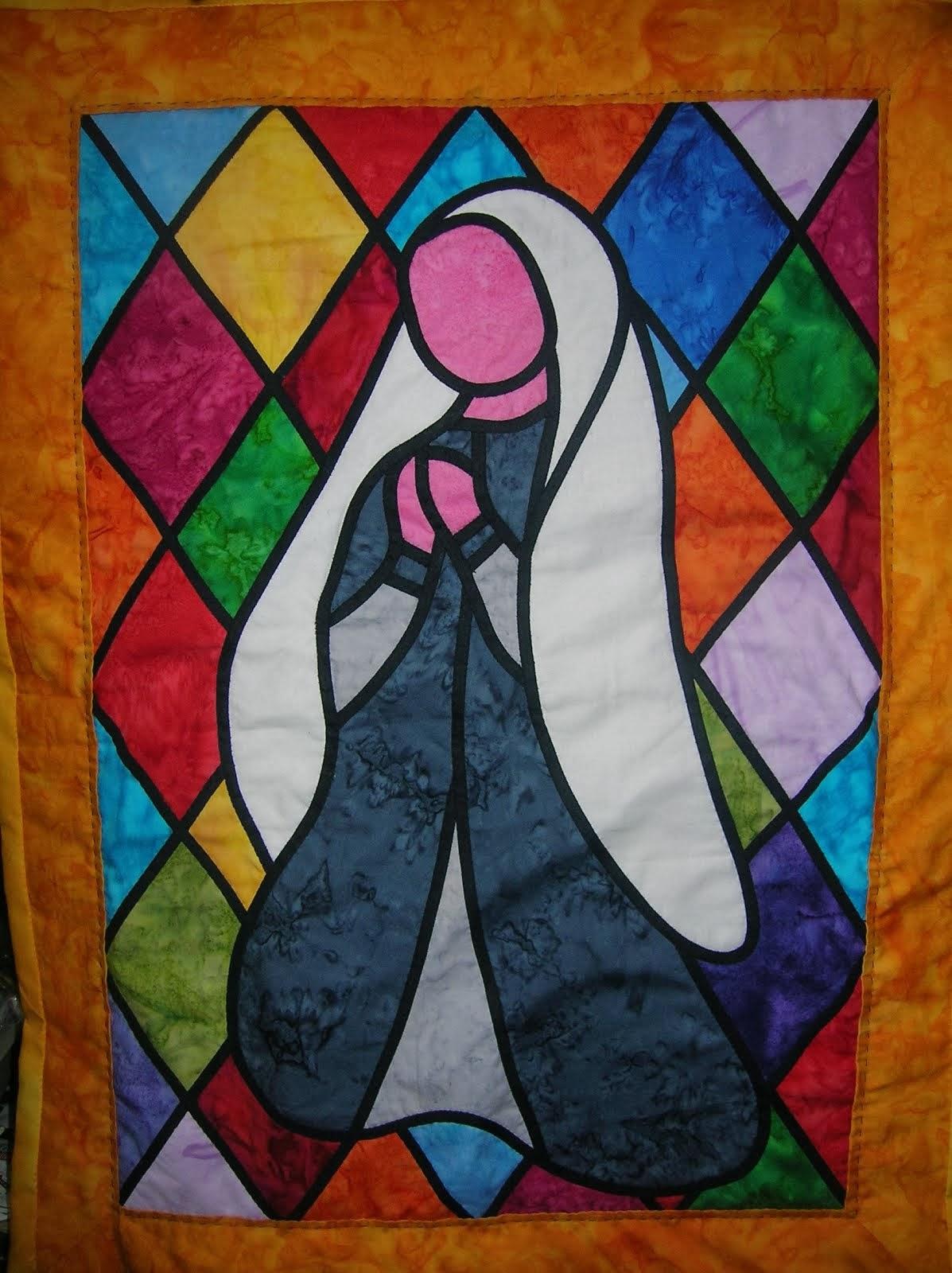 La Vierge au Vitrail
