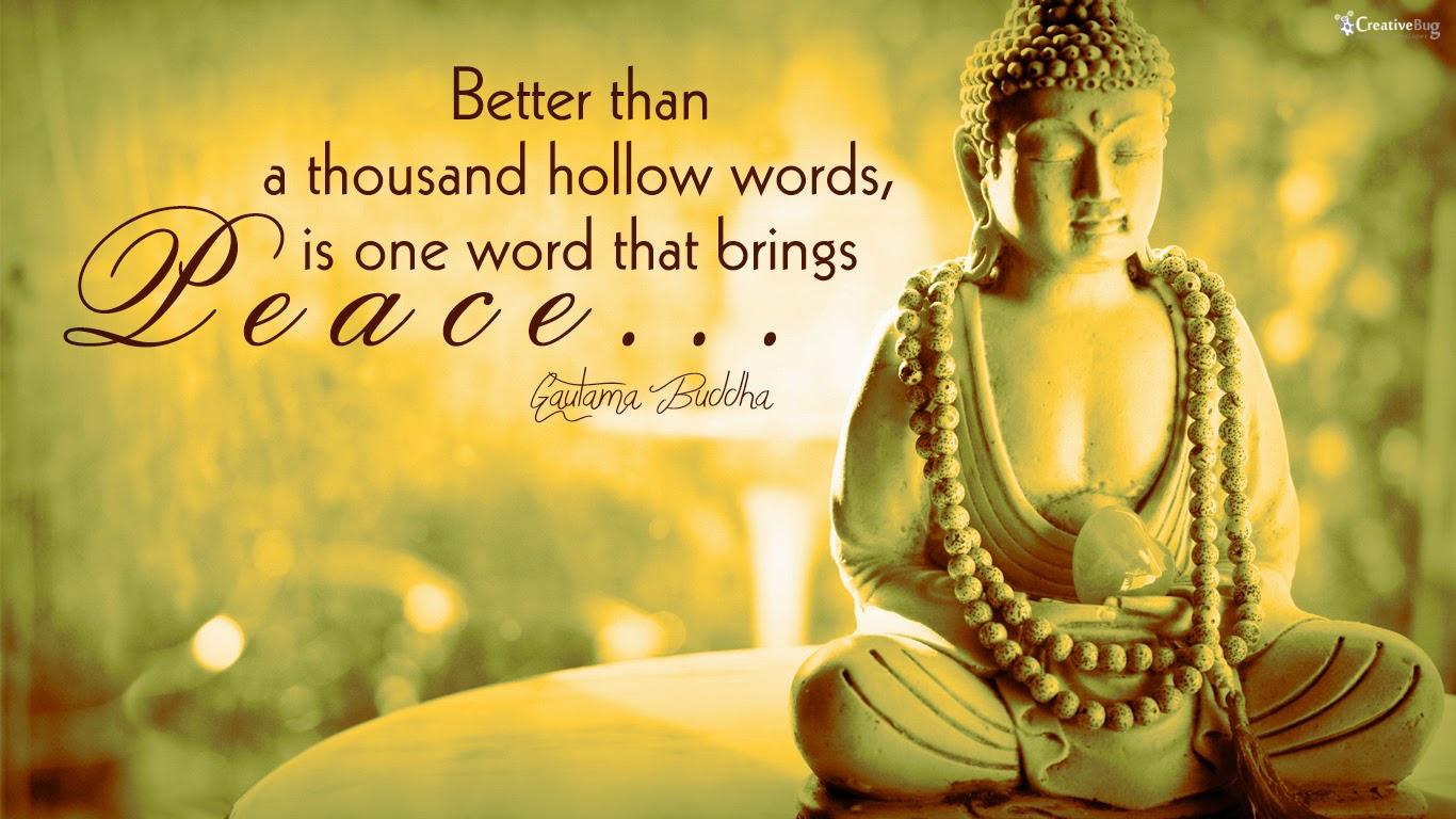 Gautama Buddha Quote Collection Wallpaper