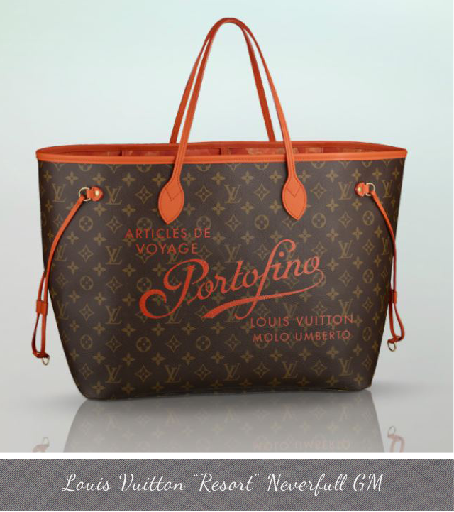 Louis Vuitton Resort Neverfull GM Portofino