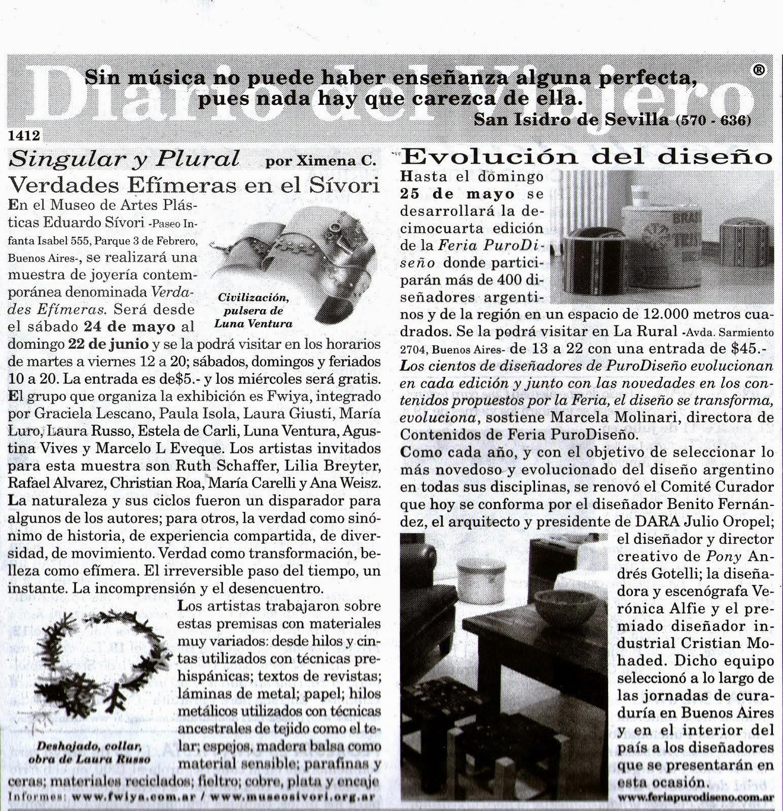 Diario El viajero