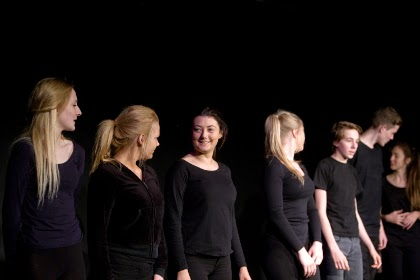 Egglescliffe finish their performance, photograph taken by Chris Auld