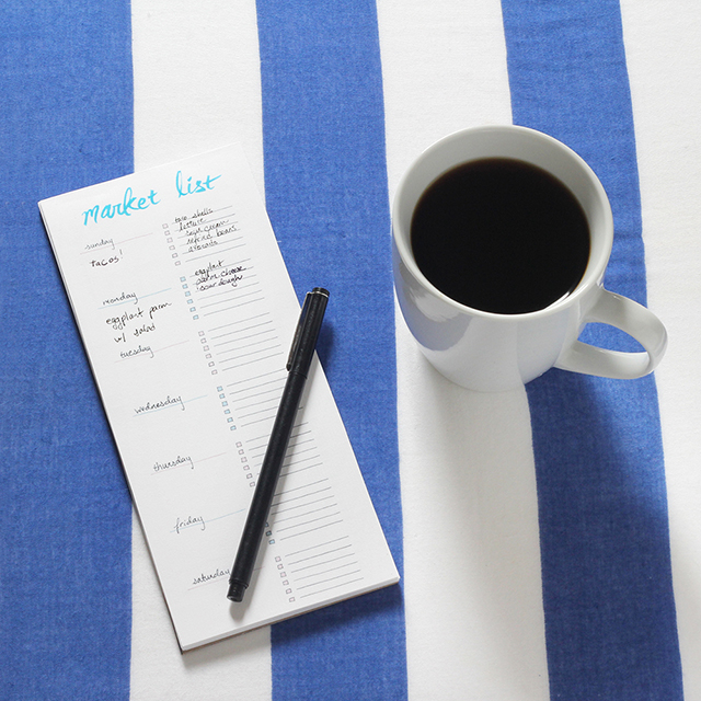 Printable DIY Shopping List