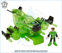 Imaginext DC Justice League Green Lantern Jet Target