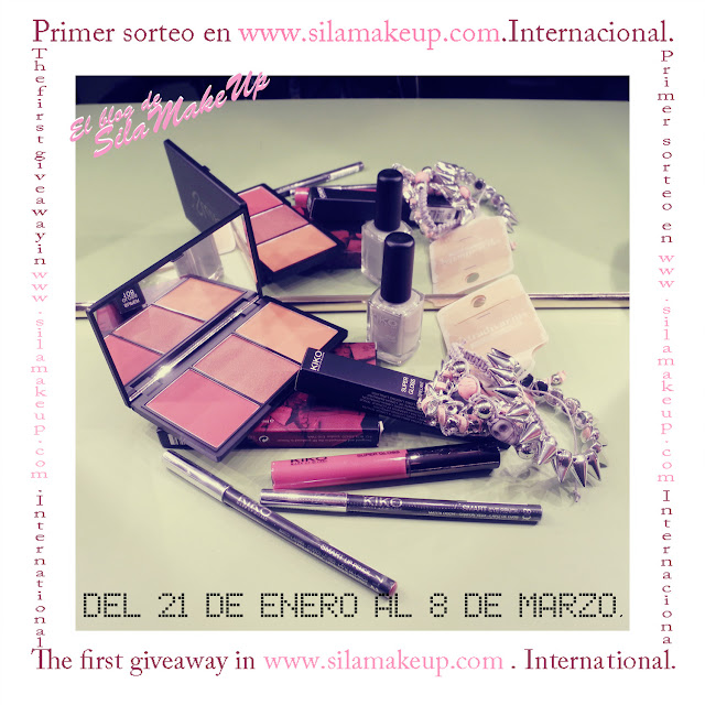 sorteo primer cumpleblog, cosméticos, kiko, sleek, stradivarius, blogger belleza y moda de tarragona