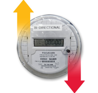 how to read solar panel meter nsw