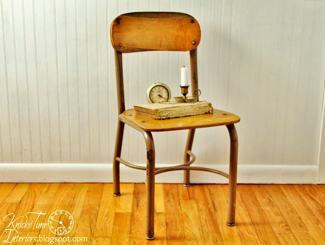 Antique School Chair via Knick of Time Interiors