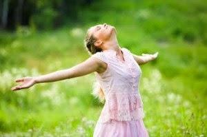 Menghilangkan stres dengan bernafas dalam-dalam