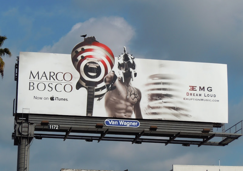 Marco Bosco guitar billboard