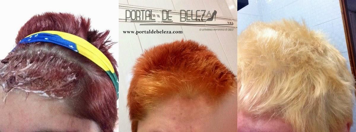 cabelos vermelho