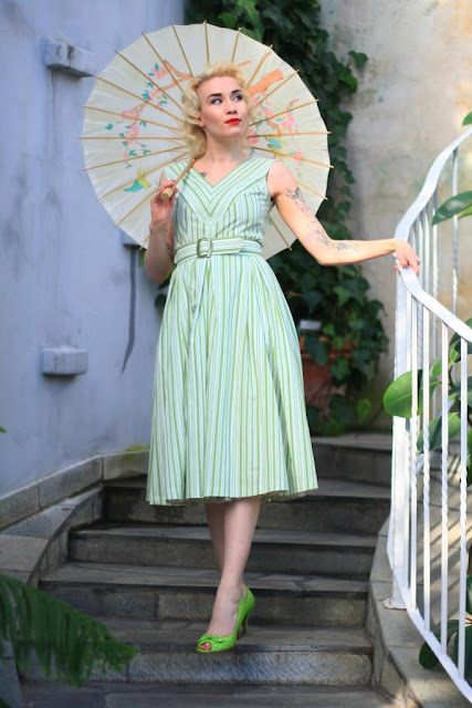 50s style Shelley -dress by Cherise