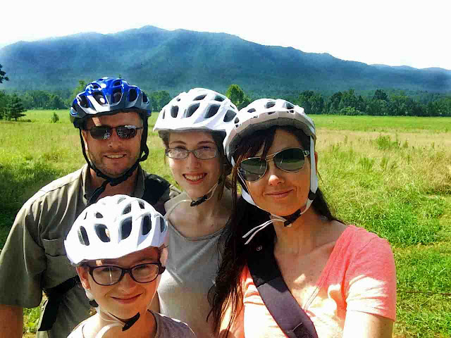 Bike Riding Smoky Mountains