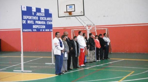 V juegos deportivos escolares etapa de inspeccion noticias - Viveros amoros ...