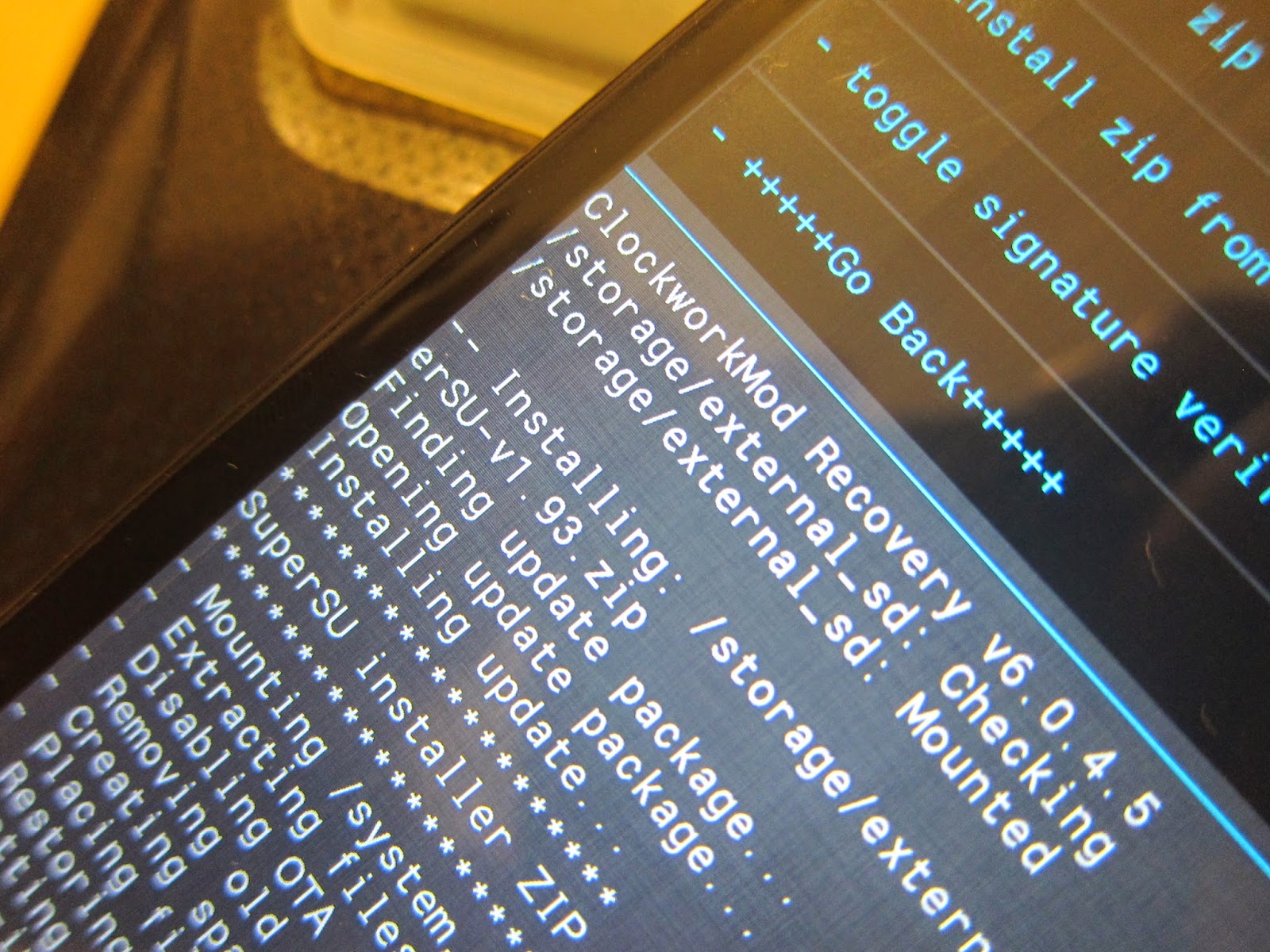 IMG 2335 - 【圖文教學】HTC Butterfly 4.3/4.4 解鎖+ROOT