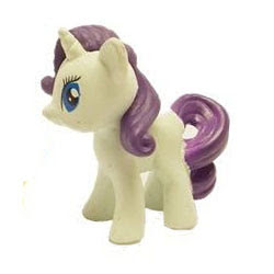 MLP Busy Book Figure Rarity Figure by Phidal