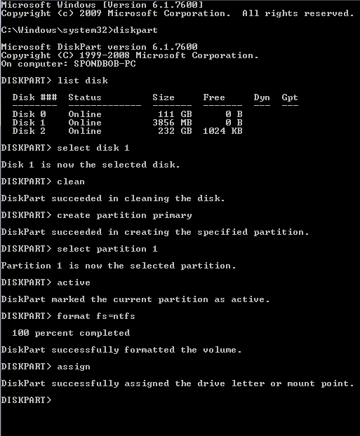 Cara install windows 7 menggunakan flashdisk tanpa software