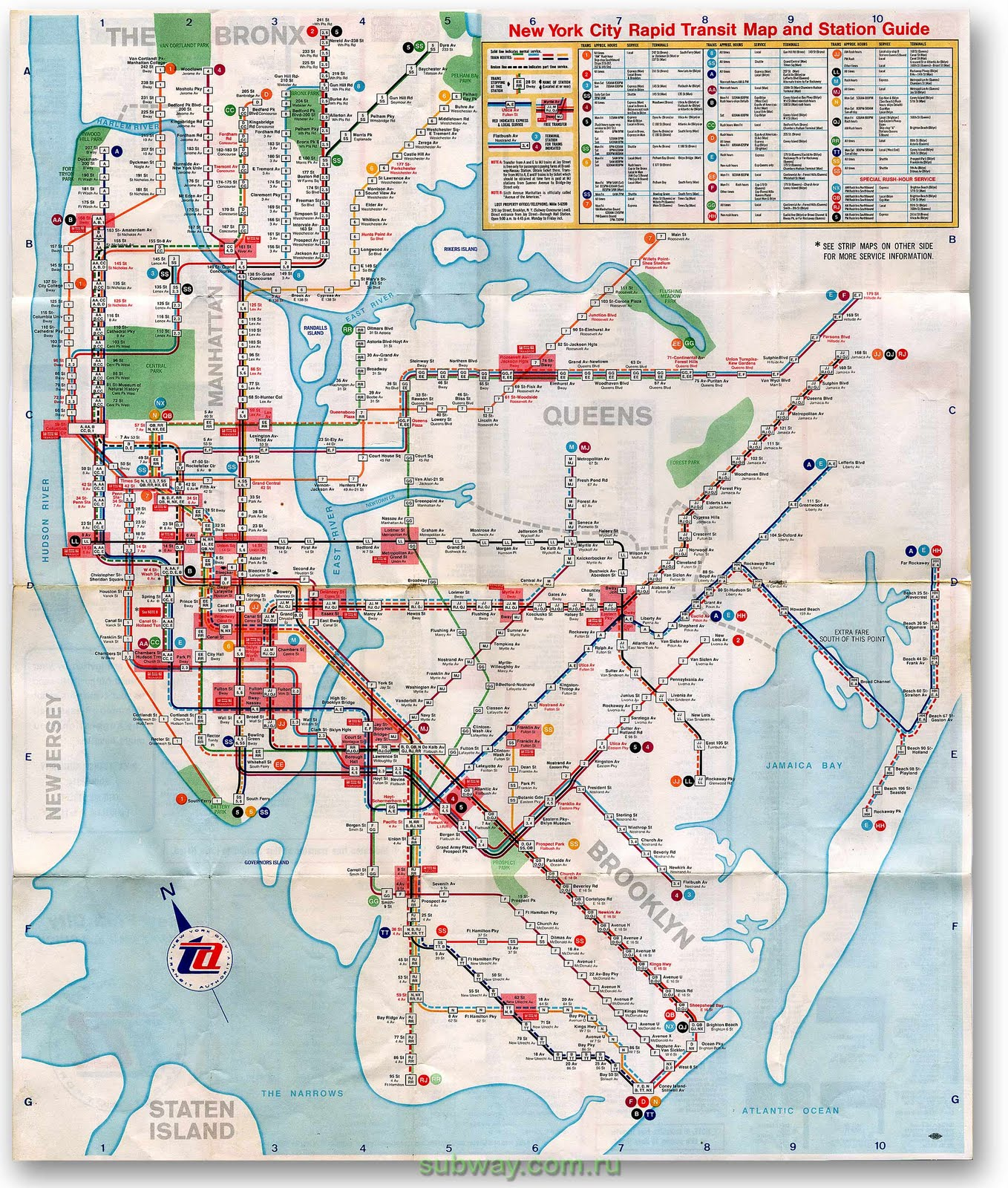 Old Subway Map My Blog - Nyc subway map queens ny