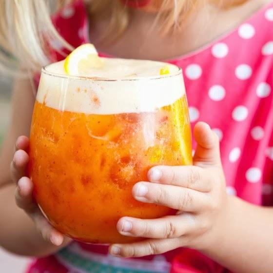 Lemonade Non Alcoholic Drinks: Life Fad: Coconut Peach Lemonade (Non-Alcoholic Summer Drink