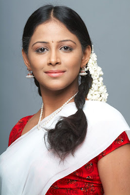 subhiksha in half saree spicy shoot hot images