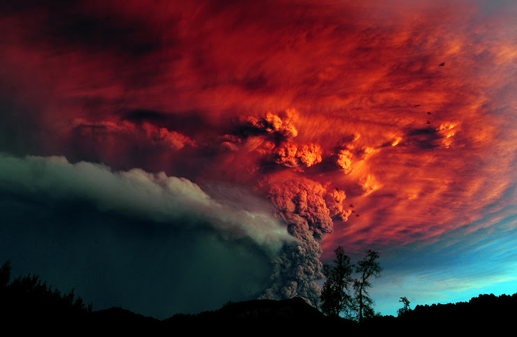 Puyehue Volcano in Chile