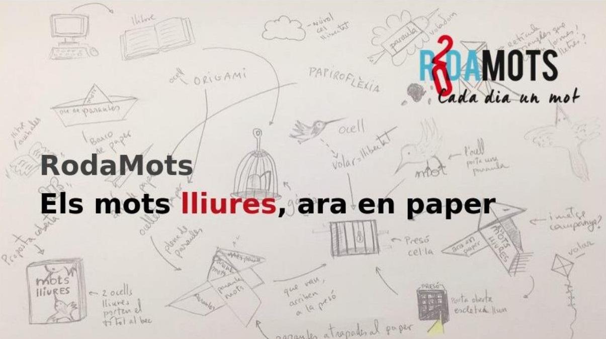 Rodamots en paper