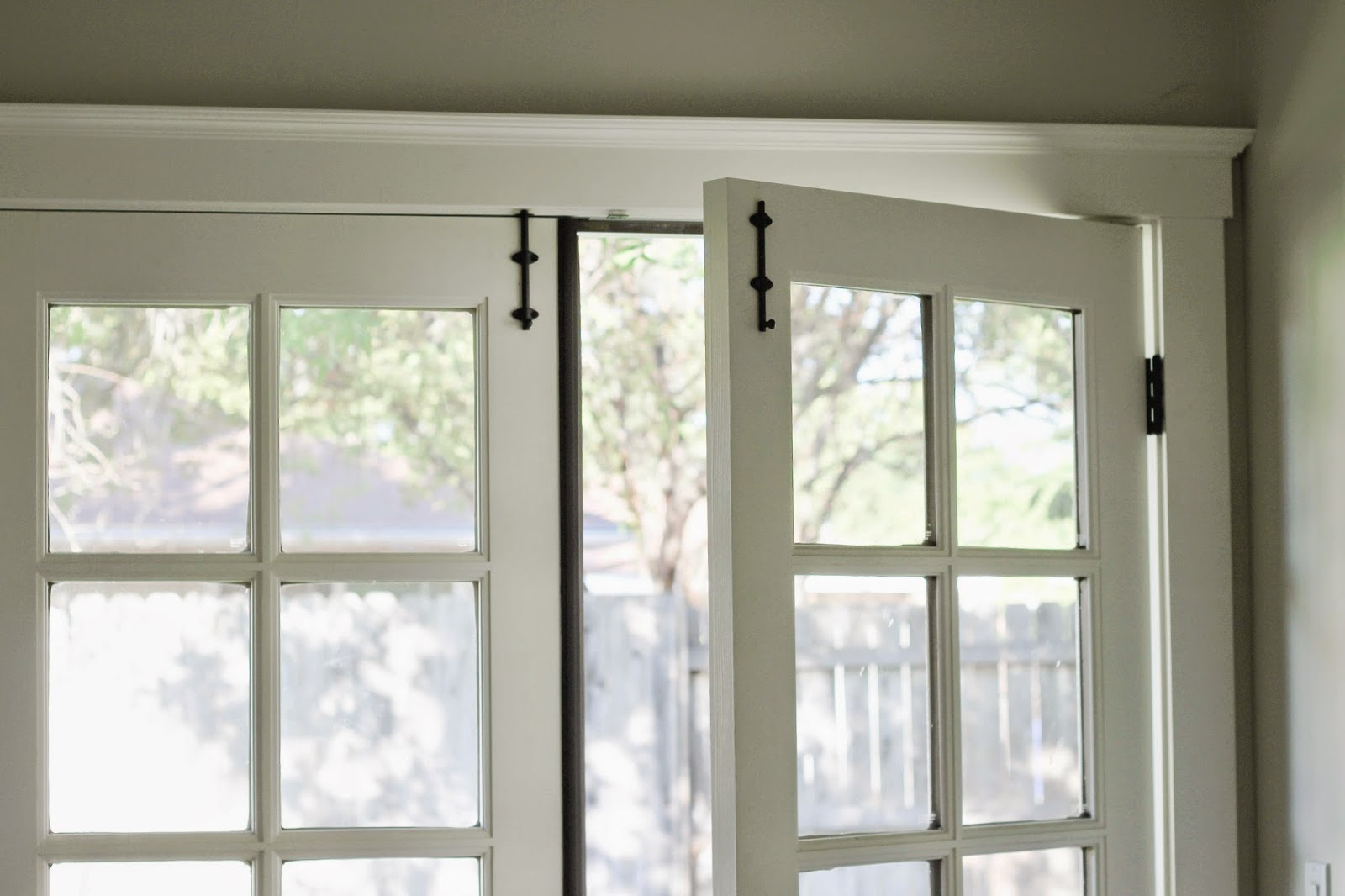 Installing Surface Bolts on French Doors