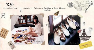 Zapatos de marca Chocolate Schubar