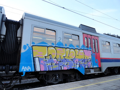 photos de graffitis de trains