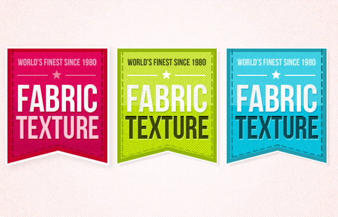 Fabric Ribbons PSD