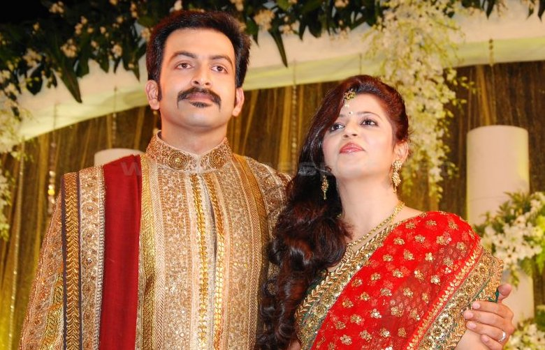 Prithviraj  - Prithviraj Wedding Reception Pics