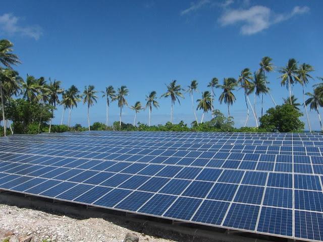 energía solar en islas de nueva zelanda