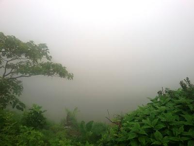 Sinhgad; fog; mist; fort; faith; tanaji;