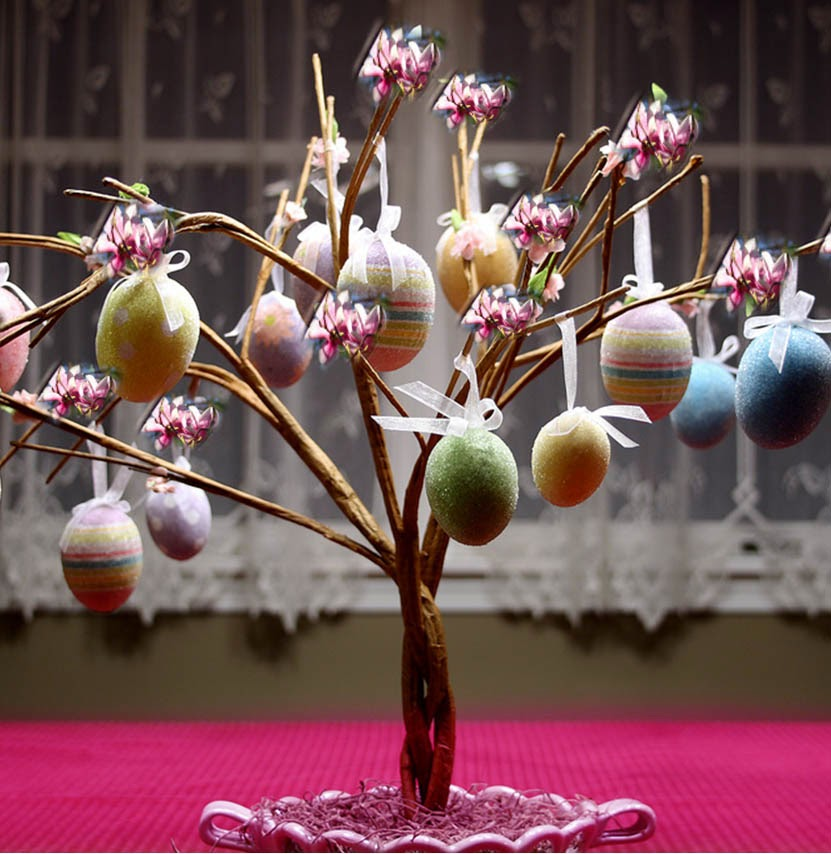 Cara Membuat Pohon dari Telur