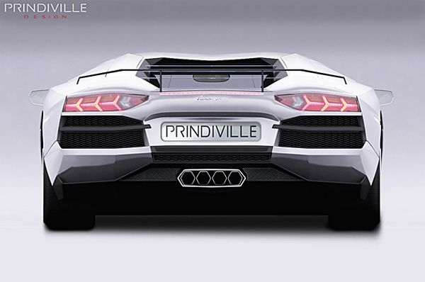 Lamborghini Aventador Modified By PRINDIVILLE DESIGN