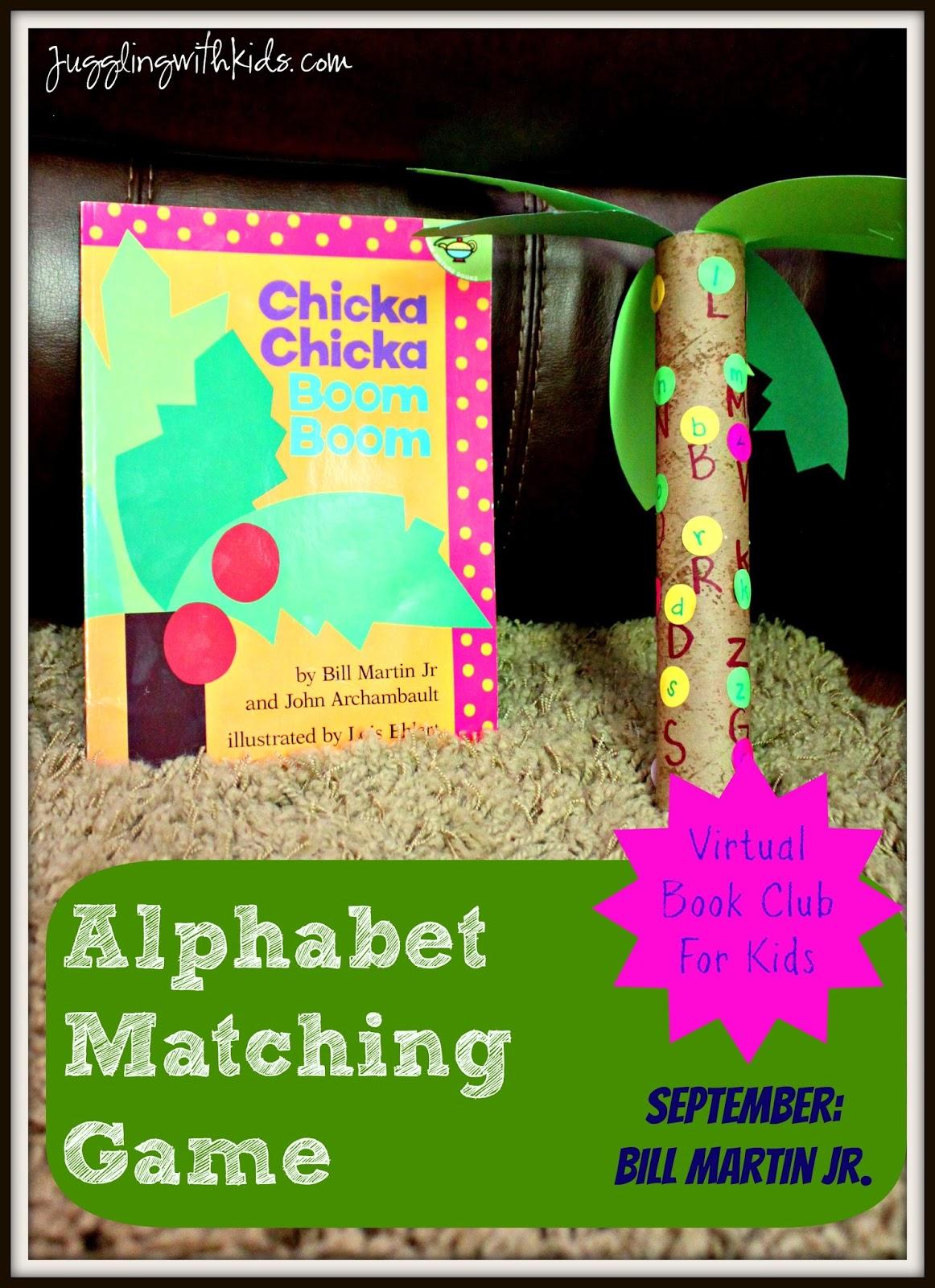 Chika Chika Boom Boom Alphabet Matching Game: Virtual Book Club for ...