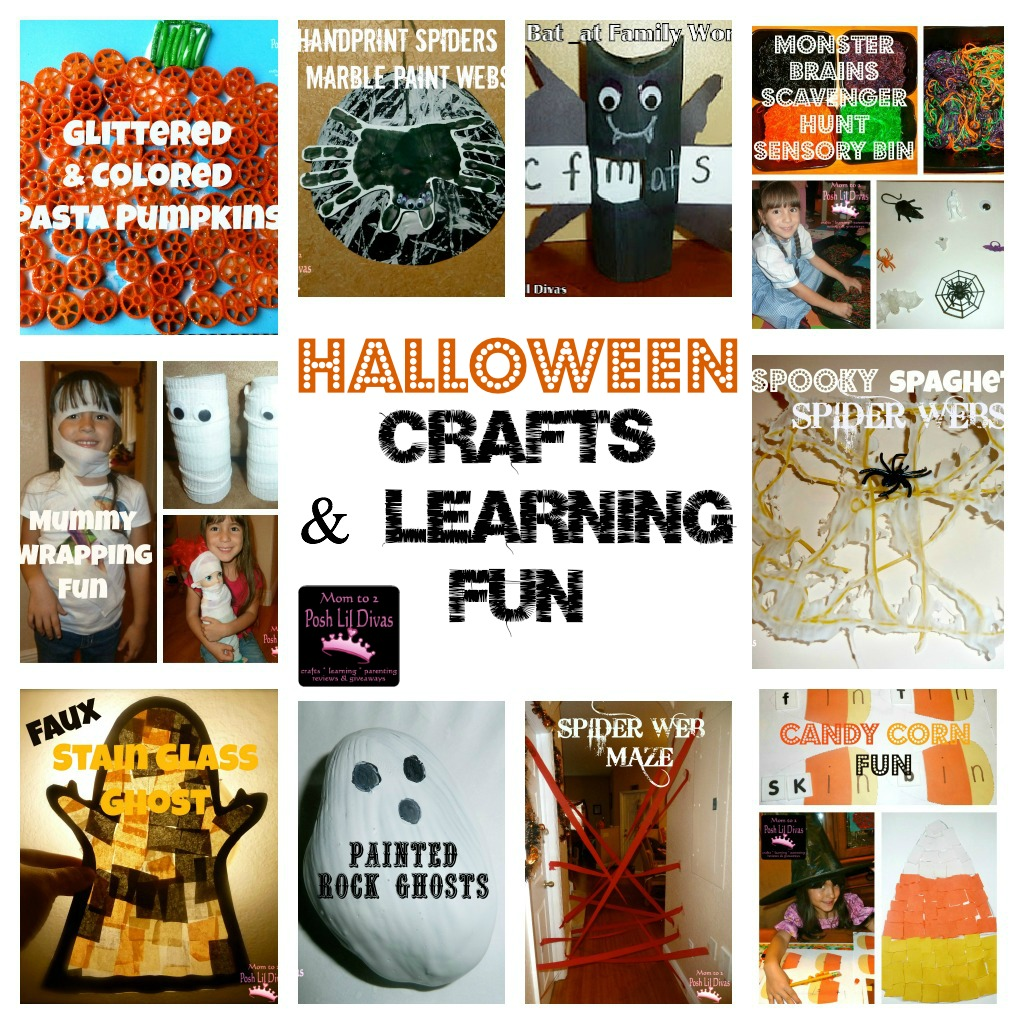 10 fun halloween crafts learning activities for kids - Halloween Printable Crafts For Kids 2