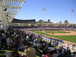 City of Phoenix: Maryvale Baseball Park - https://www.phoenix.gov/parks/sports/professional-sports/maryvale-baseball-park