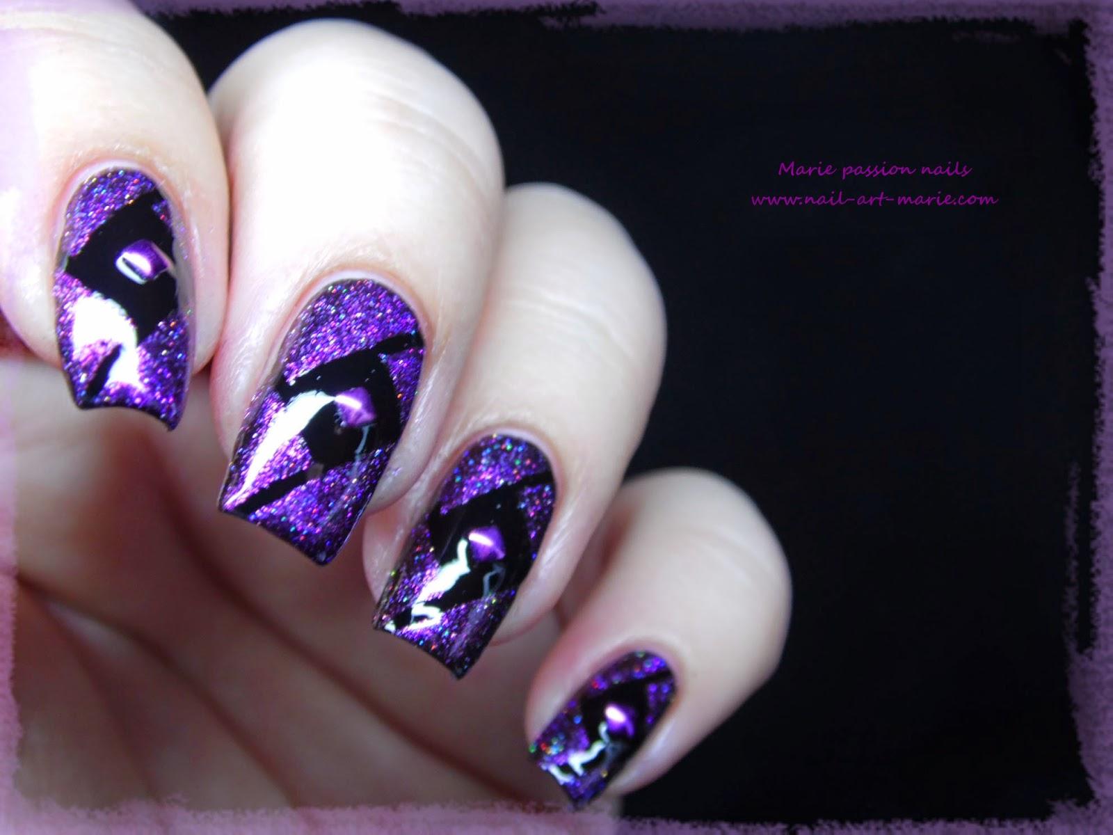 Nail Art Studs Géométrique7