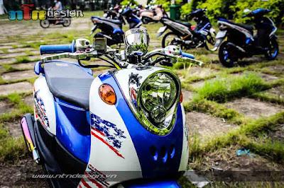 Modifikasi Yamaha Fino Thailand Style Minimalis